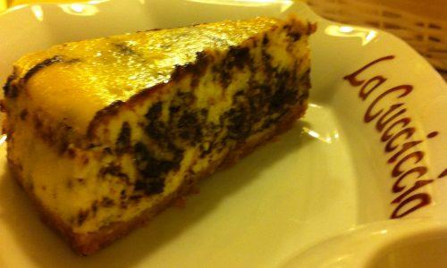 Cheese cake marmorizzato