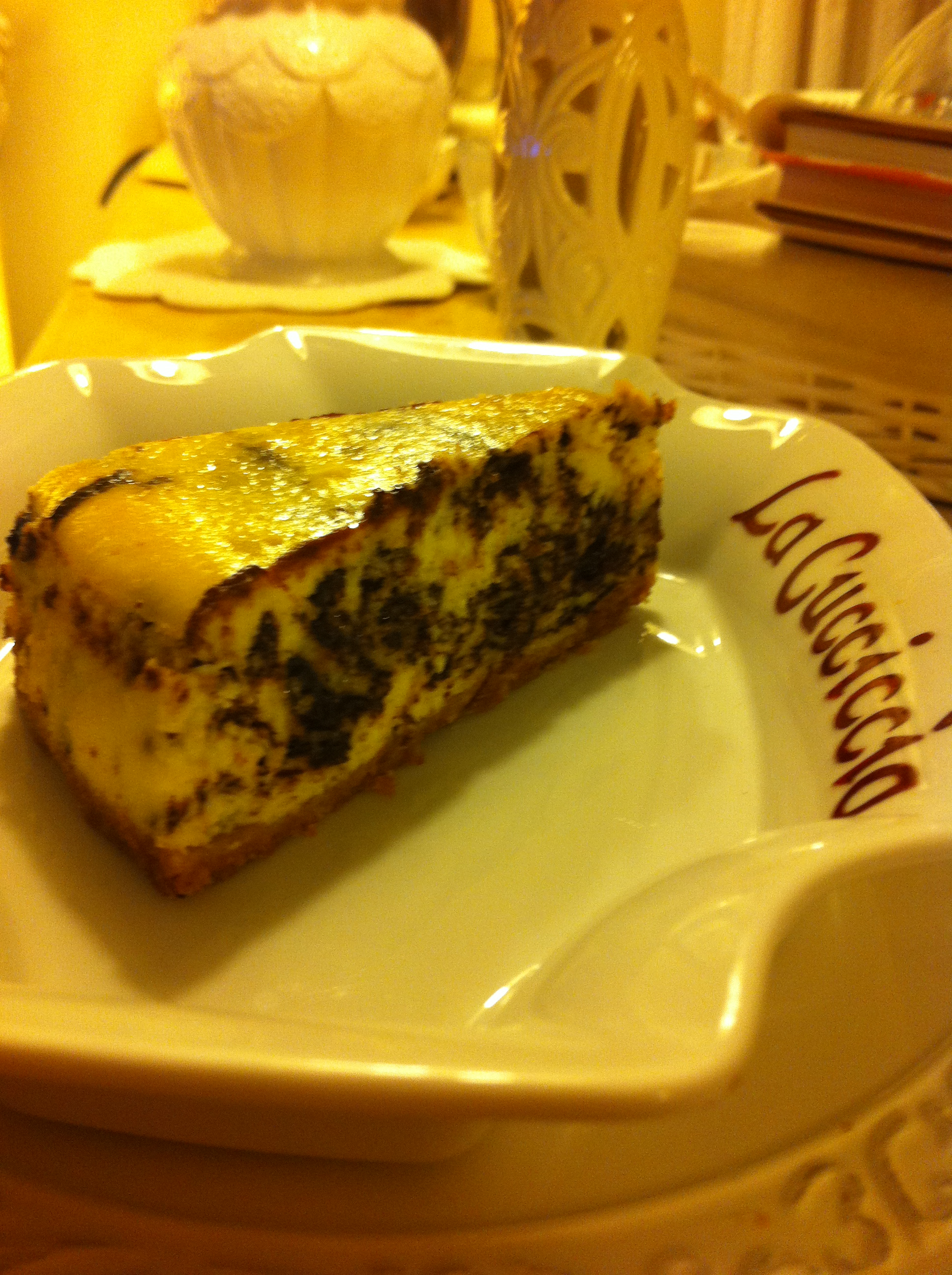 cheesecake marmorizzato