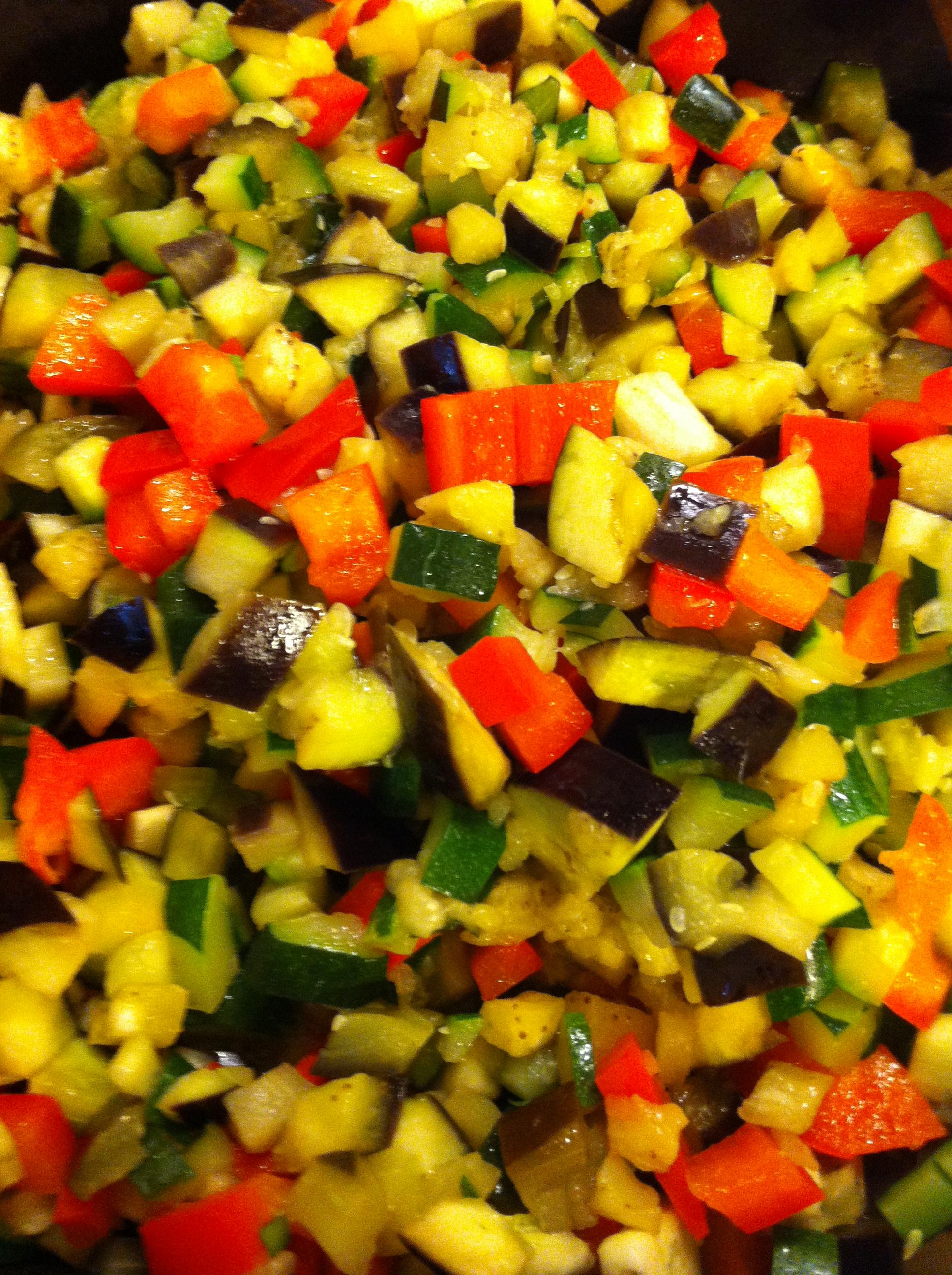 pie di verdure