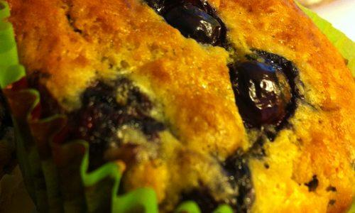 Muffins ai mirtilli di Nigella