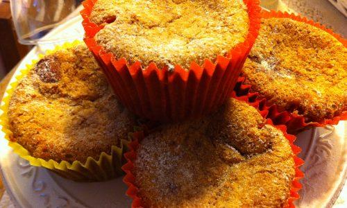 Muffins di colomba pasquale