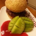 hamburger dolce con Nutella 048