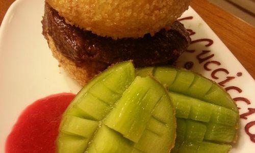 Hamburger dolce alla Nutella