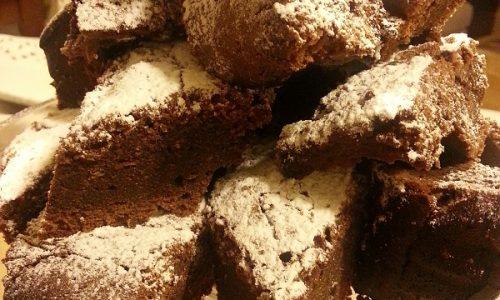 Torta budino al cioccolato fondente