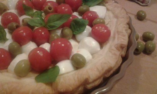 Pizza sfogliata alla napoletana