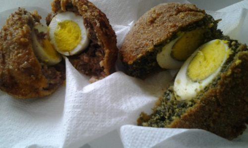 Uova alla scozzese vegetariane