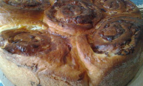 Torta di rose salata con tonno,philadelphia e provola bianca