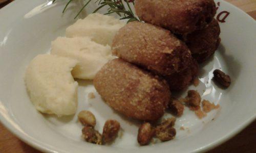 Crocchette di tonno e patate al forno