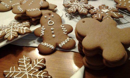 Biscotti di pan di zenzero  natalizi