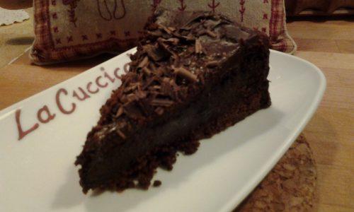Torta di ricotta al cioccolato al forno