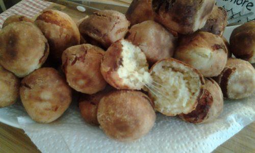 Polpettine di mozzarella e pane