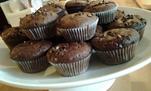 Muffins al cioccolato con gocce di cioccolato di Nigella