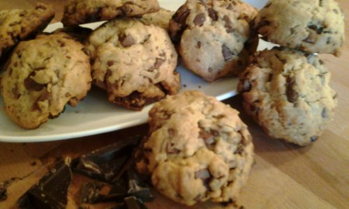 Chocolate chips cookies originali