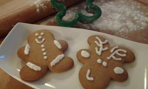 """Biscotti natalizi pan di zenzero """"double face"""""""