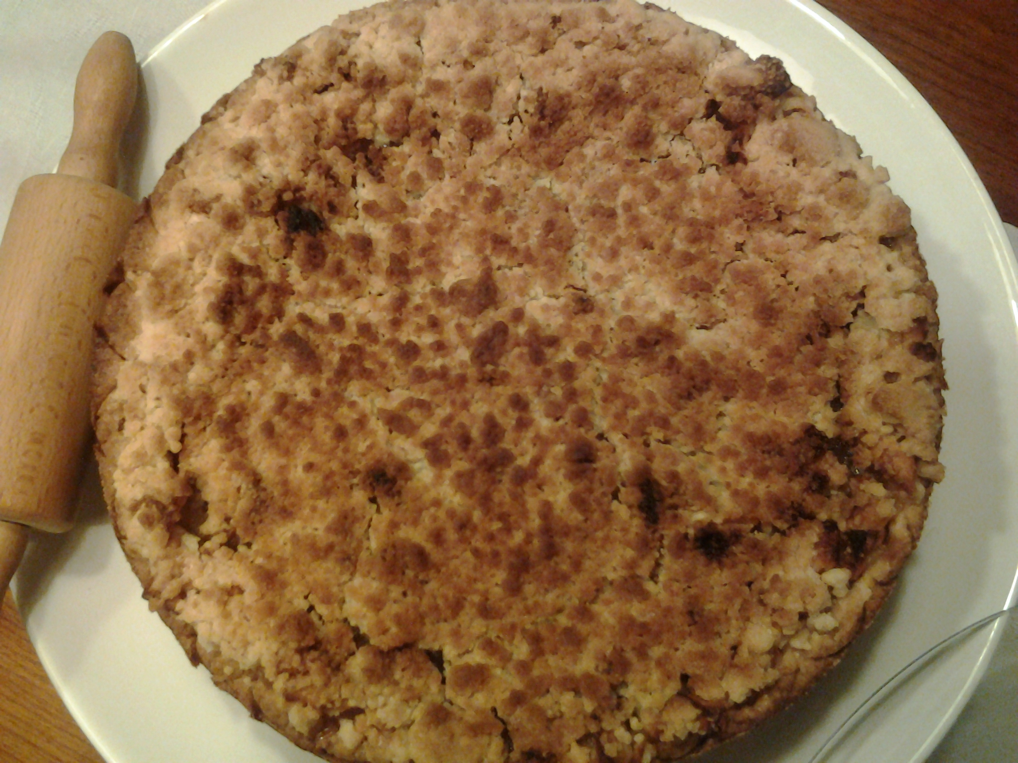 Crumble apple pie