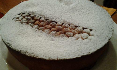 """Crostata frangipane al cioccolato e nocciole in """"bellavista"""""""