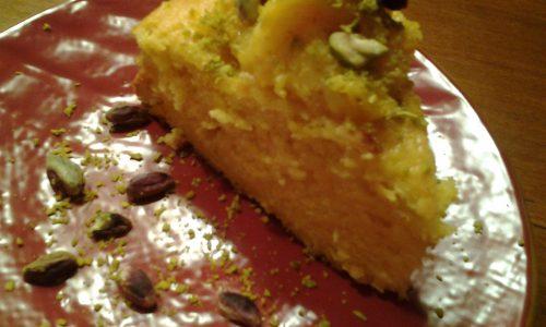 Torta  morbidissima di arance
