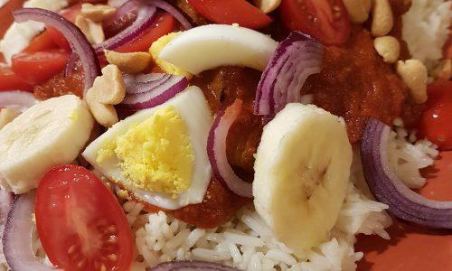 Riso al curry ……..di casa mia
