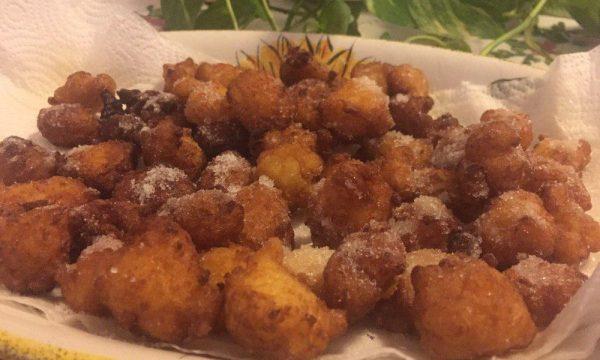 Frittelle di riso di Carnevale