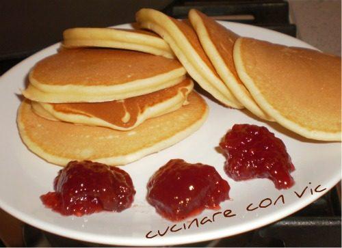 Pancakes per la nostra colazione