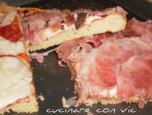 Pizza con farina diversa