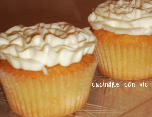 Cupcakes con crema al mascarpone e philadelphia