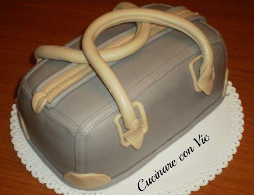 Torta Bauletto in pasta di zucchero