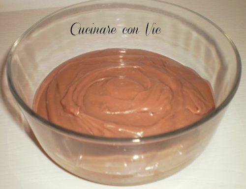 Crema al cioccolato ricetta senza uova