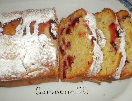 Plumcake con prugne ricetta dolce