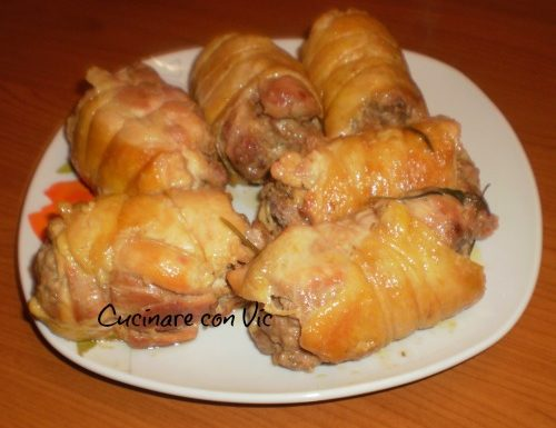 Cosce di pollo farcite  (ricetta della domenica)