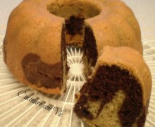 Ciambella all'acqua bicolore