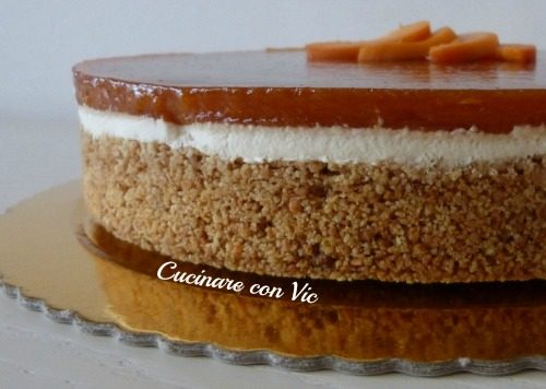 Cheesecake all'albicocca