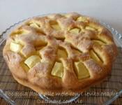 Focaccia dolce alle mele con Lievito Madre