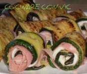 Involtini di verdure grigliate farcite