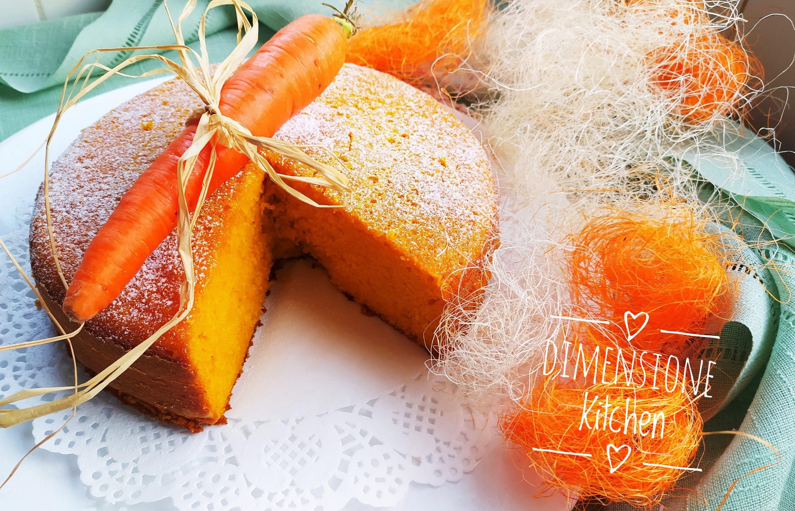 Torta alle carote: pronta in pochi minuti