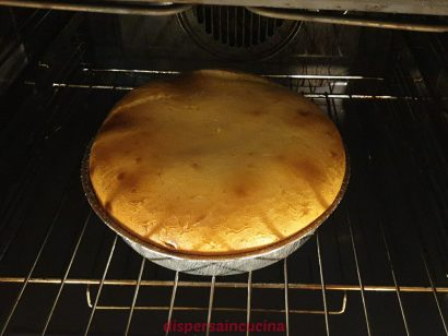 Lasciamo raffreddare la cheesecake