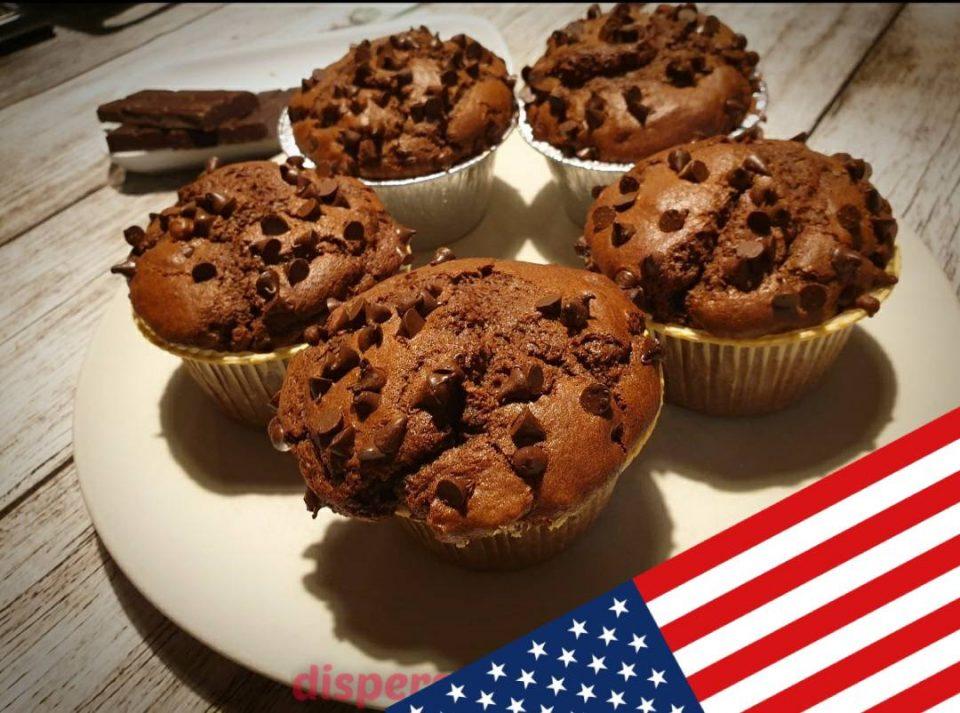 Muffin al cacao, ricette americane