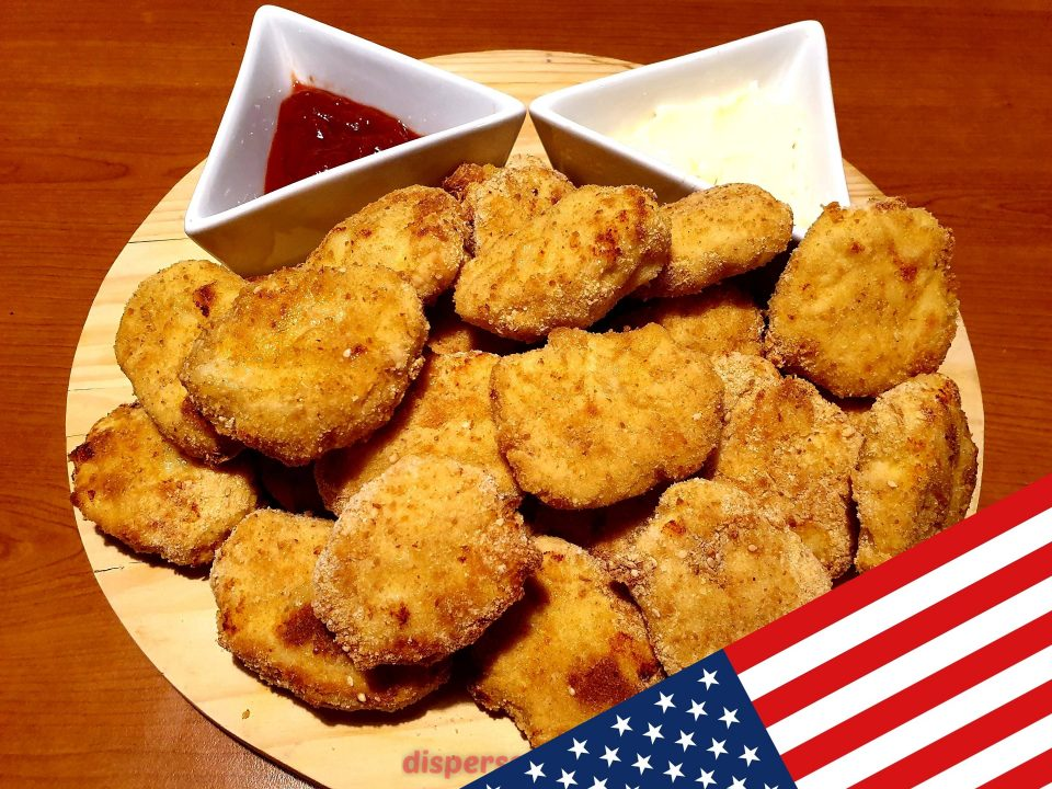 Nuggets al forno, ricette americane