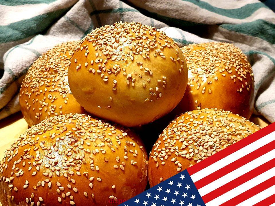 Panini per hamburger, ricette americane