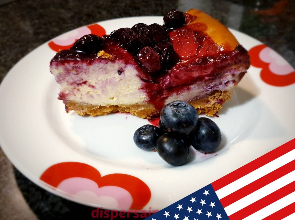 Cheesecake ai mirtilli, ricette americane