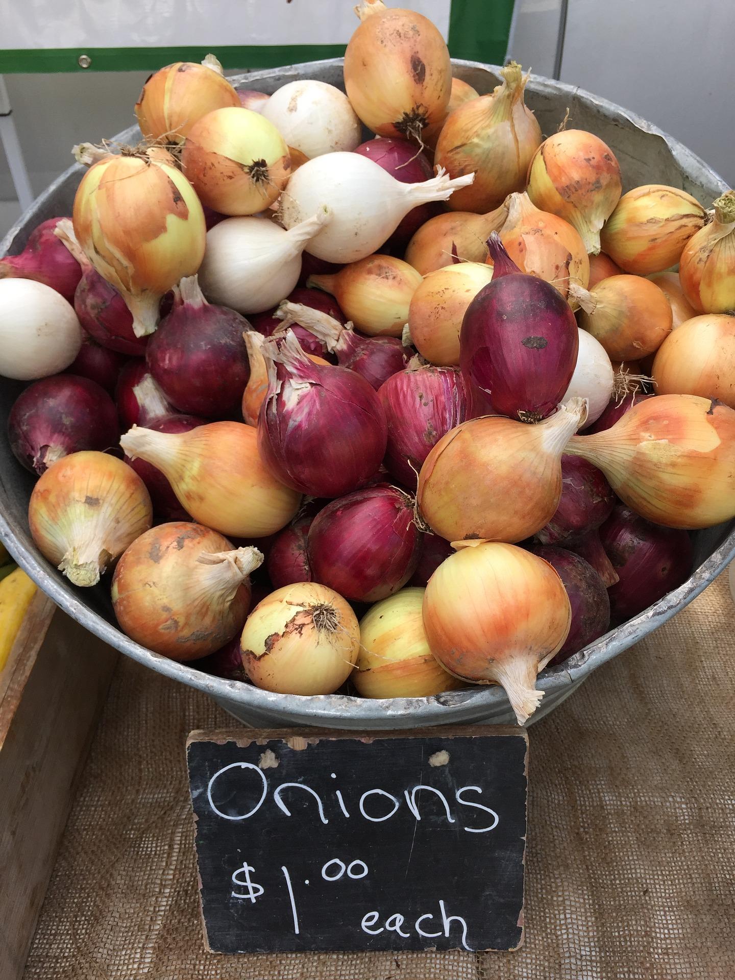 Esistono 3 varietà di cipolle