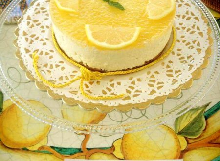 Cheese cake fredda al limone
