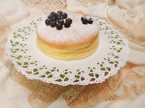 Japanese Cotton Cheese Cake ( Cheese cake giapponese )