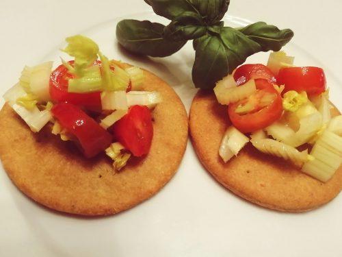 Cialde croccanti di pastafrolla salata al parmigiano