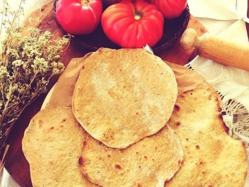 Piadine brutte e croccanti ai cereali e origano