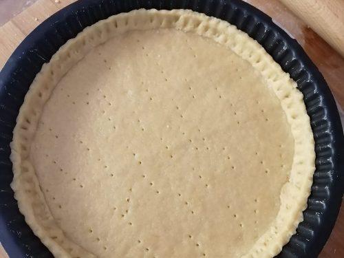 Pasta brisée facile fatta in casa leggera e friabile
