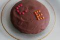 Torta al cioccolato e arancia senza glutine e senza lattosio.