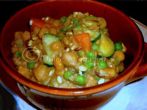 Zuppa con legumi e cereali una deliziosa ricetta vegetariana