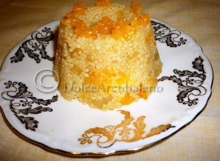 Cous cous al mandarino