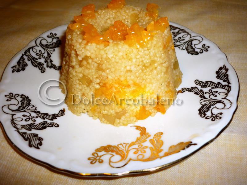 Cous cous con mela e mandarino by DolceArcobaleno
